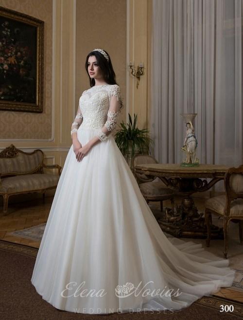 закрытые свадебные платья