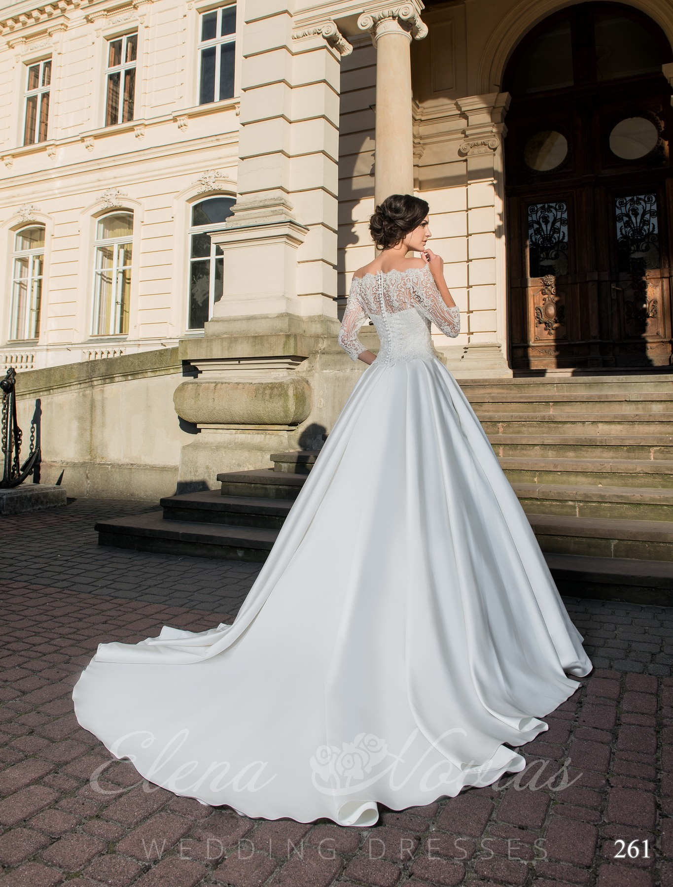 Wedding dress - transformer model 261