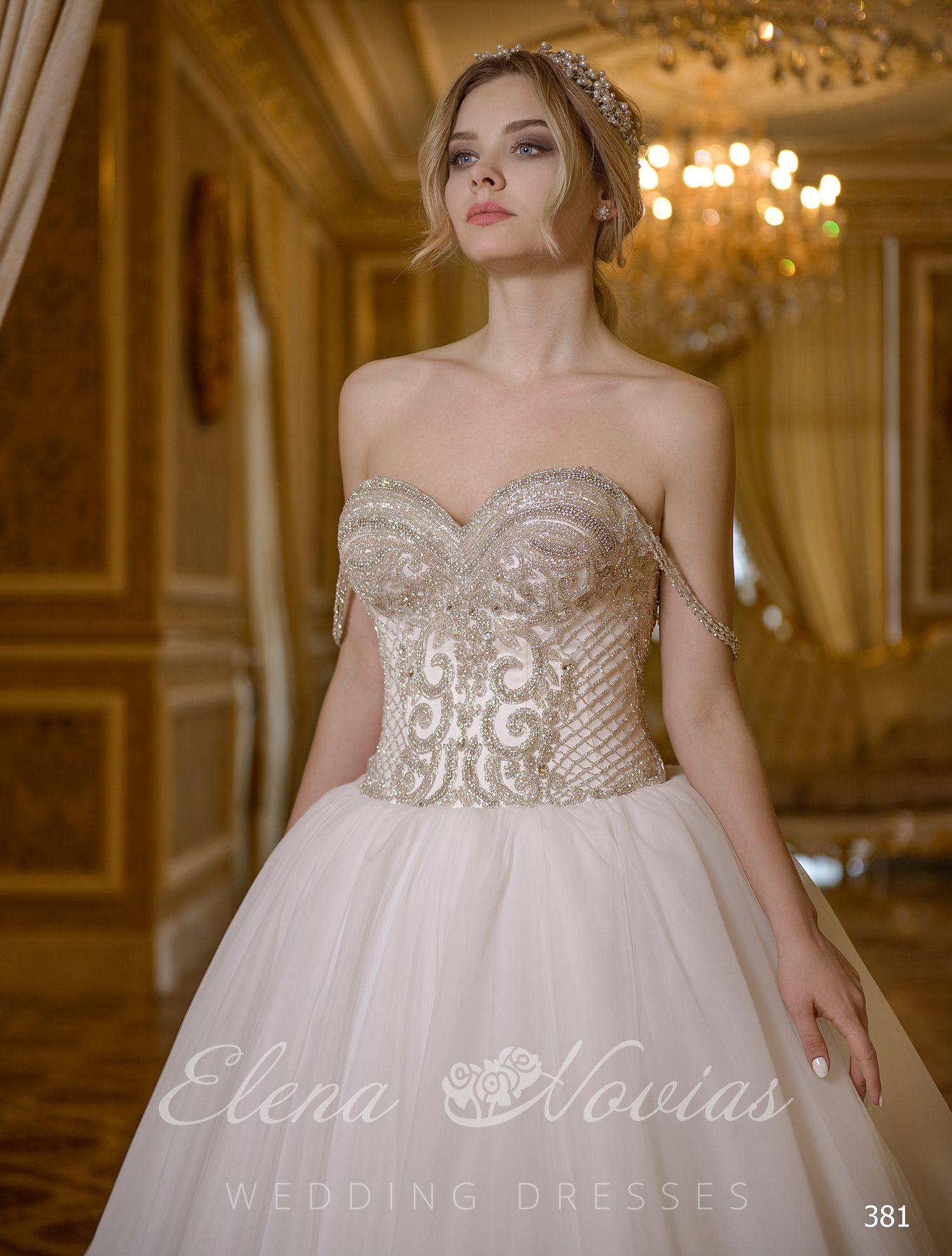 Purchase a wonderful a-line wedding dress on  wholesale