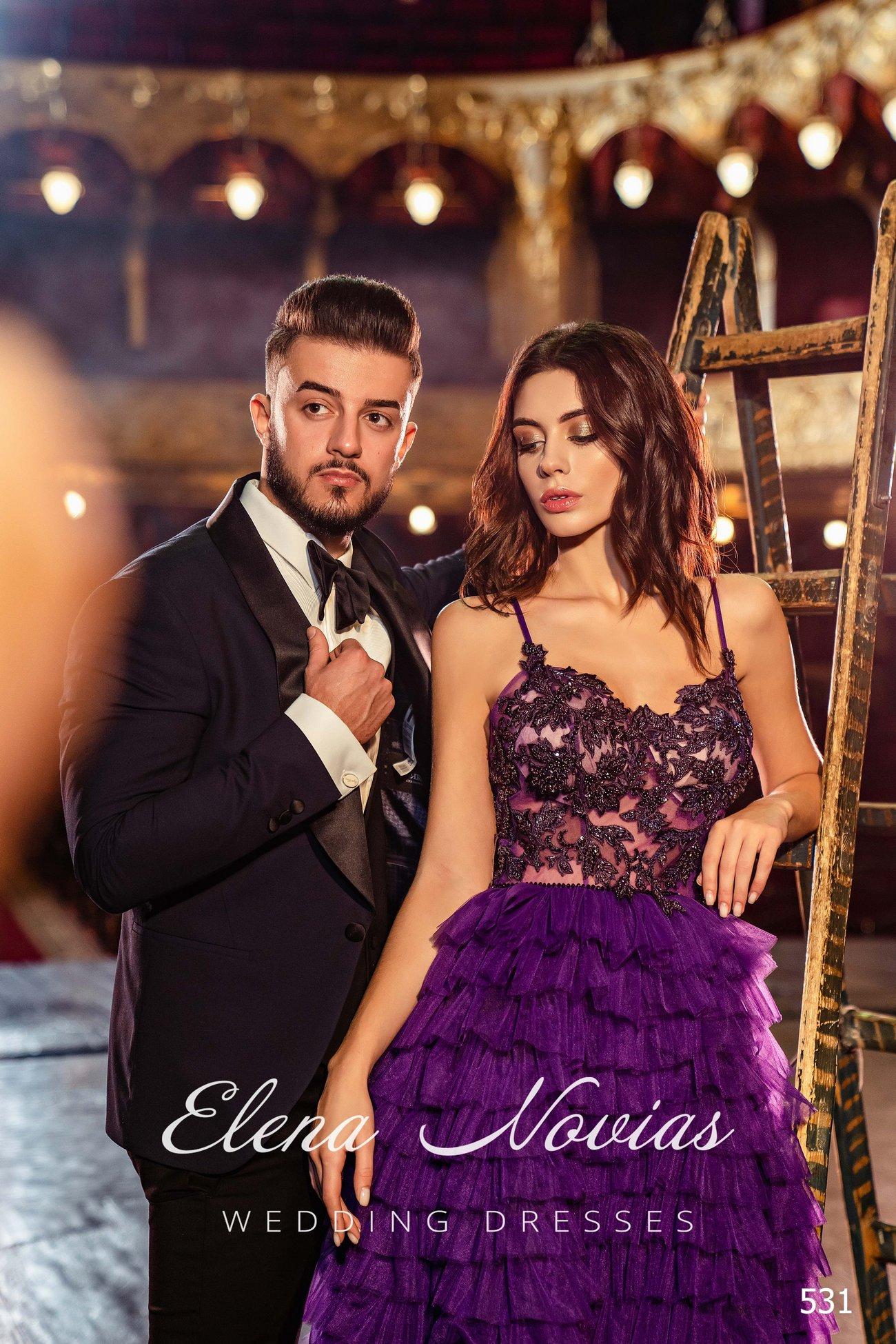 Evening dresses V-531 1