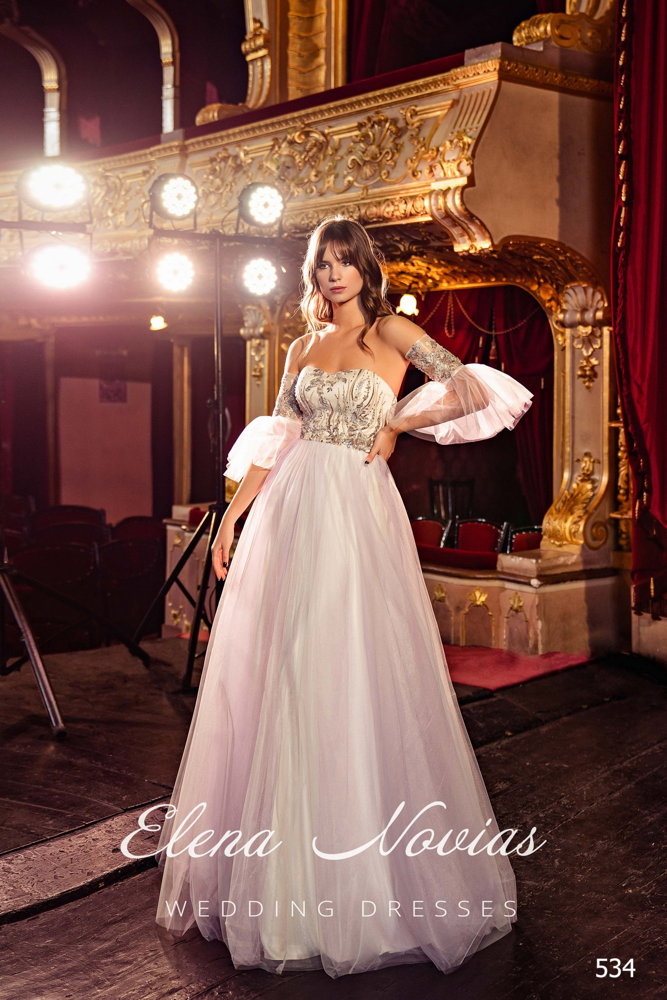 Evening dresses V-534 1