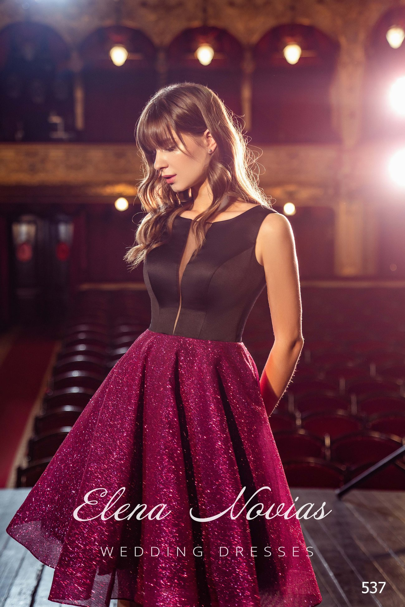 Evening dresses V-537 1