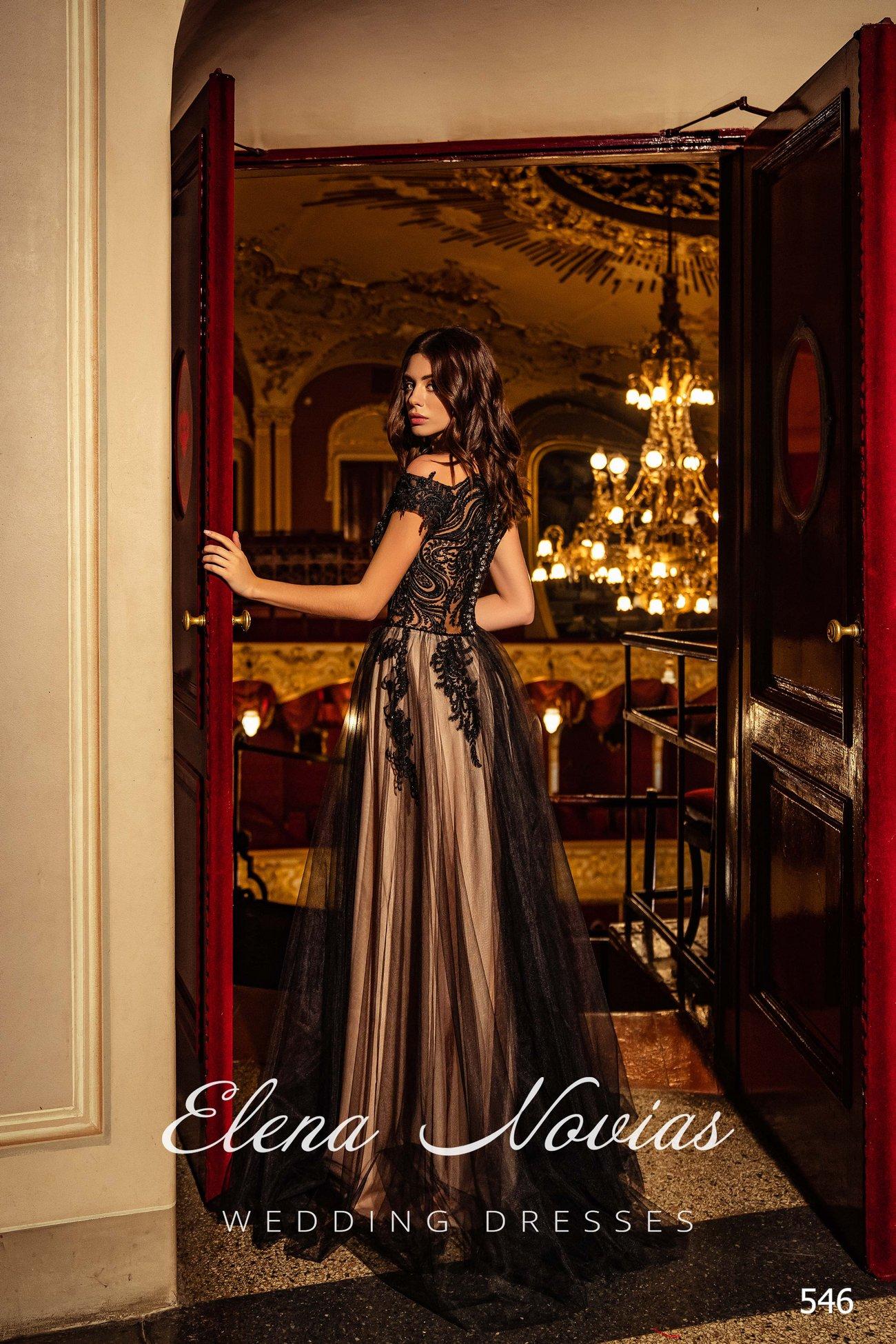 Вечерние платья V-546 2