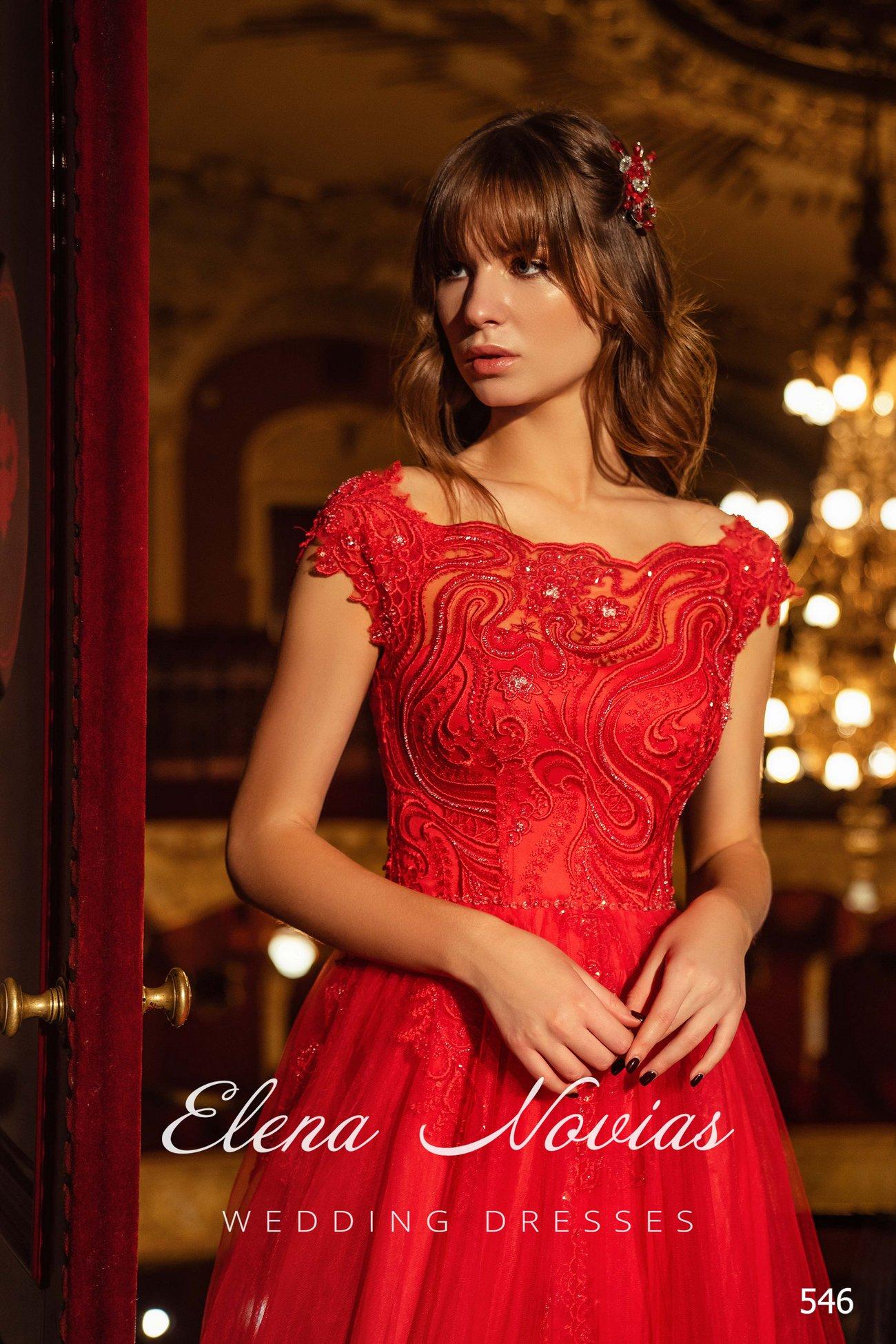 Вечерние платья V-546 3