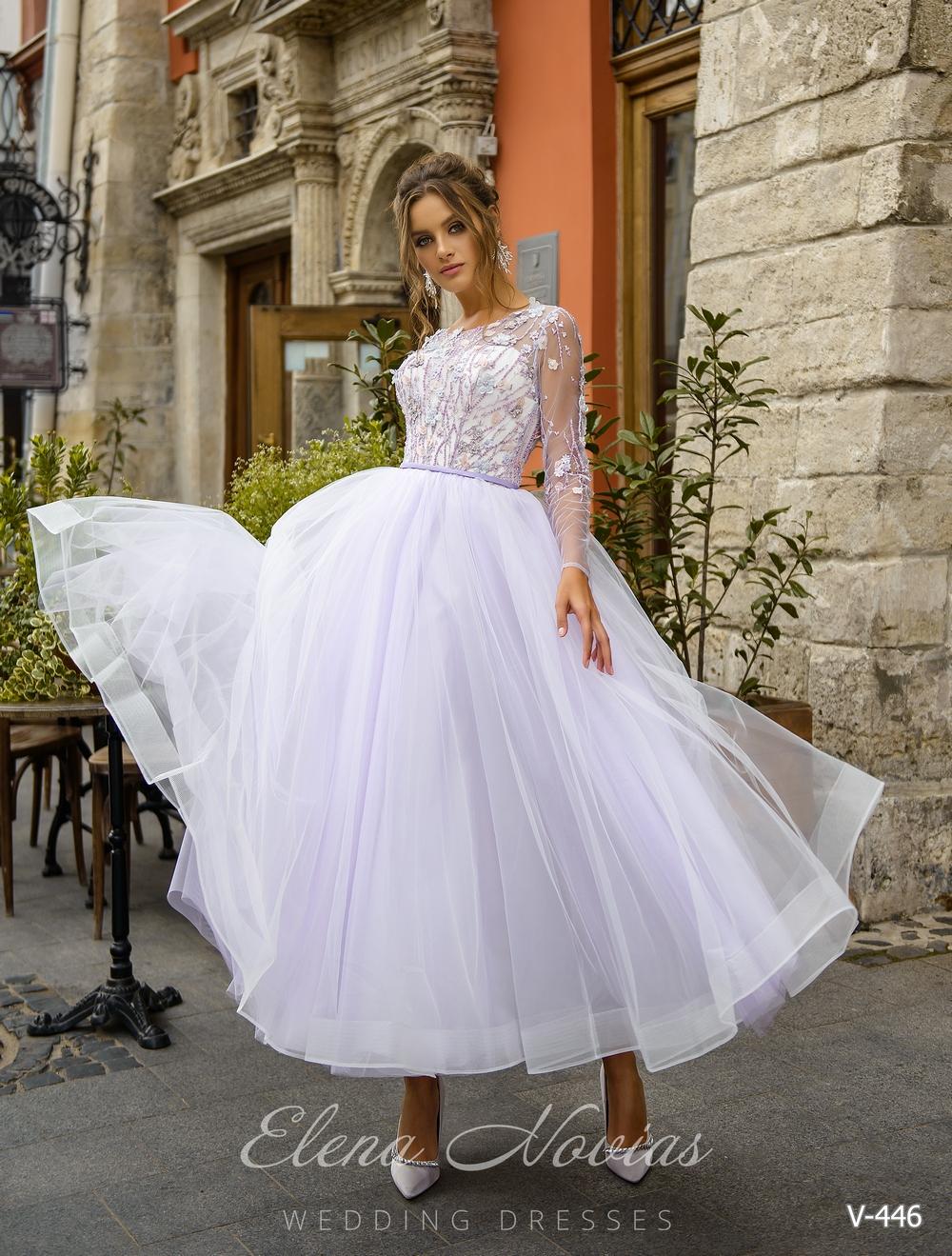 Вечернее пышное платье с воздушных тканей и оригинальным лифом