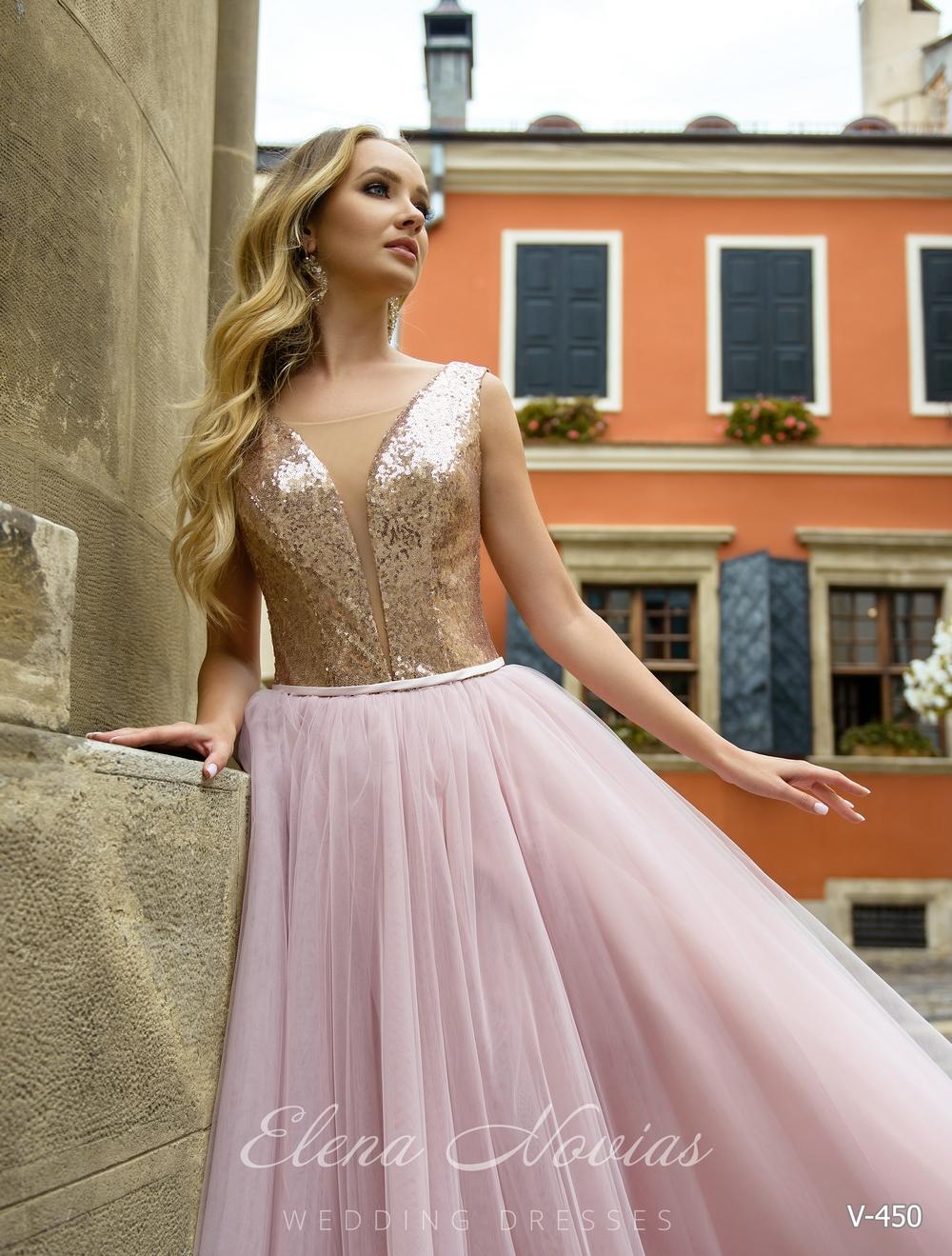 Вечернее платье с блестящим корсетом