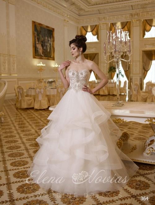 Свадебное платье-бюстье Elena Novias