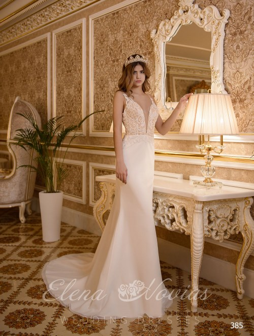 Свадебное платье русалка от Elena Novias